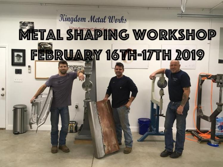 Metal Shaping Workshop